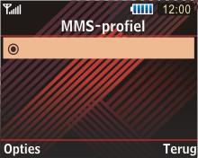 Samsung B3210 Corby TXT - MMS - handmatig instellen - Stap 13