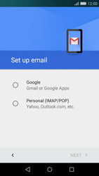 Huawei P8 Lite - E-mail - Manual configuration (gmail) - Step 7