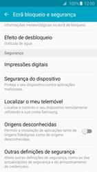 Samsung Galaxy S6 - Segurança - Como ativar o código PIN do cartão de telemóvel -  5