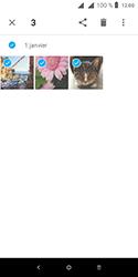Alcatel 1 - Photos, vidéos, musique - Envoyer une photo via Bluetooth - Étape 8