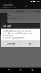 HTC Desire 620 - Contactgegevens overzetten - delen via Bluetooth - Stap 10
