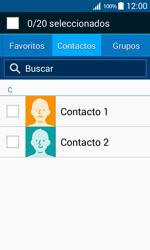 Samsung Galaxy Core Prime - Mensajería - Escribir y enviar un mensaje multimedia - Paso 6