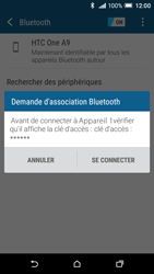 HTC One A9 - Bluetooth - connexion Bluetooth - Étape 9