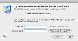 Apple iPhone 3G - Applicaties - Account aanmaken - Stap 11