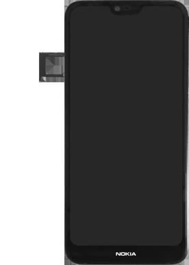 Nokia 7.1 - Premiers pas - Insérer la carte SIM - Étape 5