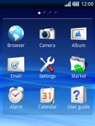 Sony Ericsson Xperia X10 Mini - Mms - Manual configuration - Step 3