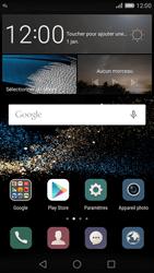 Huawei P8 - Paramètres - Reçus par SMS - Étape 3