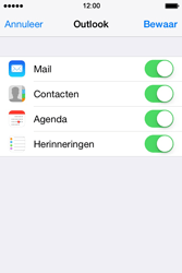 Apple iPhone 4 iOS 7 - E-mail - handmatig instellen (outlook) - Stap 8