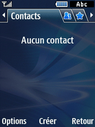 Samsung Solid 271 - Contact, Appels, SMS/MMS - Ajouter un contact - Étape 4