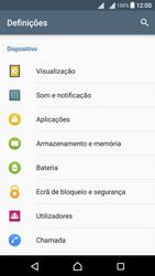Sony Xperia X Dual SIM (F5122) - Segurança - Como ativar o código de bloqueio do ecrã -  4