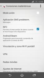 Sony Xperia Z3 - Mensajería - Configurar el equipo para mensajes multimedia - Paso 5