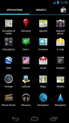 Samsung I9250 Galaxy Nexus - Internet - Navigation sur Internet - Étape 2
