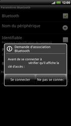 HTC X515m EVO 3D - Bluetooth - connexion Bluetooth - Étape 10