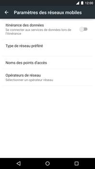 Motorola Nexus 6 - Internet - Configuration manuelle - Étape 8