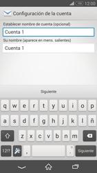 Sony Xperia Z3 - E-mail - Configurar correo electrónico - Paso 18