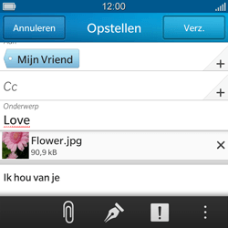 BlackBerry Q5 - E-mail - Hoe te versturen - Stap 15