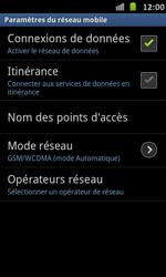 Samsung I9070 Galaxy S Advance - Réseau - utilisation à l'étranger - Étape 13