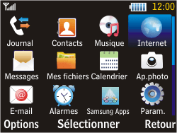 Samsung S3570 Chat 357 - Internet - Navigation sur Internet - Étape 2