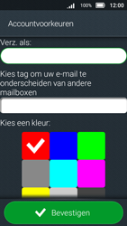 Doro 8031 - E-mail - Account instellen (IMAP met SMTP-verificatie) - Stap 20