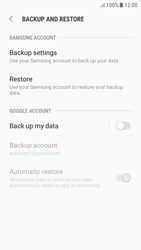 Samsung J530F Galaxy J5 (2017) - Device maintenance - Create a backup of your data - Step 6