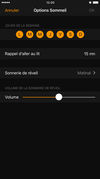 Apple Apple iPhone 6 Plus iOS 10 - iOS features - Coucher - Étape 12