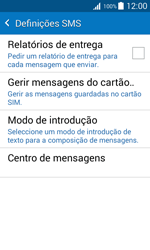 Samsung Galaxy J1 - SMS - Como configurar o centro de mensagens -  9