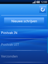 Sony Ericsson Xperia X10 Mini - E-mail - hoe te versturen - Stap 4