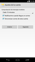 Motorola Moto X (2ª Gen) - E-mail - Configurar correo electrónico - Paso 17