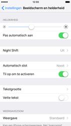 Apple iPhone 7 (Model A1778) - Beveiliging en ouderlijk toezicht - Automatische schermvergrendeling inschakelen - Stap 4