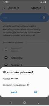 Samsung Galaxy A40 - Bluetooth - koppelen met ander apparaat - Stap 10