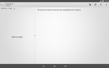 Sony Xperia Tablet Z2 (SGP521) - E-mail - e-mail instellen: IMAP (aanbevolen) - Stap 17