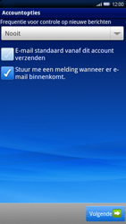 Sony Ericsson Xperia X10 - E-mail - handmatig instellen - Stap 10