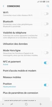 Samsung Galaxy Note 8 - Réseau - Sélection manuelle du réseau - Étape 5