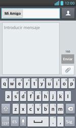 LG Optimus L5 II - Mensajería - Escribir y enviar un mensaje multimedia - Paso 8