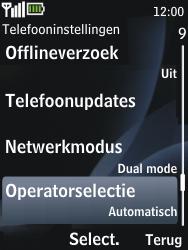 Nokia 2730 classic - Bellen - in het buitenland - Stap 5