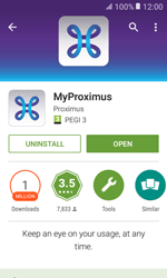 Samsung Galaxy Xcover 3 VE - Applications - MyProximus - Step 8