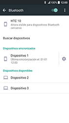 HTC 10 - Bluetooth - Conectar dispositivos a través de Bluetooth - Paso 8