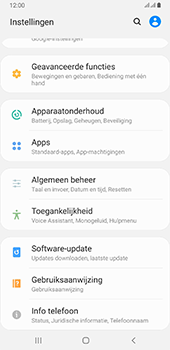 Samsung galaxy-a6-plus-sm-a605fn-ds-android-pie - Software updaten - Update installeren - Stap 4