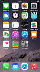 Apple iPhone 6 Plus iOS 8 - Contact, Appels, SMS/MMS - Envoyer un SMS - Étape 1