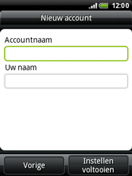 HTC A3333 Wildfire - E-mail - handmatig instellen - Stap 11