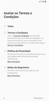 Samsung Galaxy S9 Plus - Primeiros passos - Como ativar seu aparelho - Etapa 10
