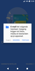 Sony Xperia XZ2 Compact - E-mail - e-mail instellen (outlook) - Stap 12