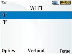 Samsung S3350 Chat 335 - Wifi - handmatig instellen - Stap 5