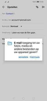 Huawei P30 Lite - E-mail - e-mail versturen - Stap 11