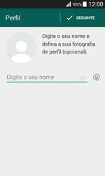 Samsung Galaxy Core II - Aplicações - Como configurar o WhatsApp -  10