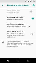 Motorola Moto X4 - Wi-Fi - Como usar seu aparelho como um roteador de rede wi-fi - Etapa 9
