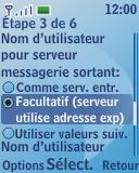Nokia 3110 classic - E-mail - Configurer l