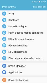 Samsung Samsung Galaxy J7 (2016) - Internet et connexion - Désactiver la connexion Internet - Étape 4