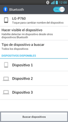 LG Optimus L9 - Bluetooth - Conectar dispositivos a través de Bluetooth - Paso 7