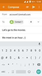Crosscall Trekker M1 Core - E-mail - Sending emails - Step 10